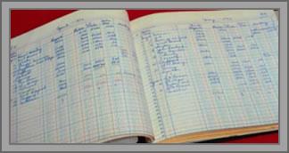 business ledger book